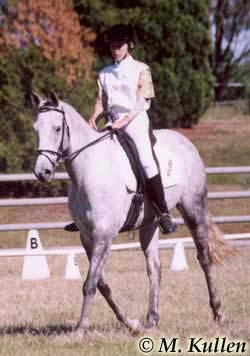 2005 RDAA National Dressage Champion for her classified grade Nicole Kullen on  her mount Light Nefarious